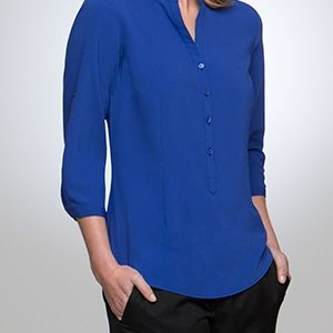 City Collection So Ezy Ladies 3/4 Sleeve Shirt