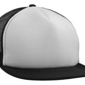 Headwear Flat Peak Trucker Mesh Cap