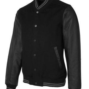 JB's Wear Art Leather Baseball Jacket