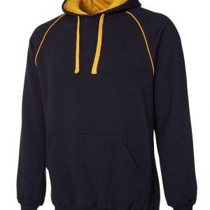 JB's Wear Contrast Fleecy Hoodie
