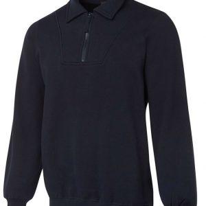 JB's Wear 1/2 Zip Fleecy Sweat