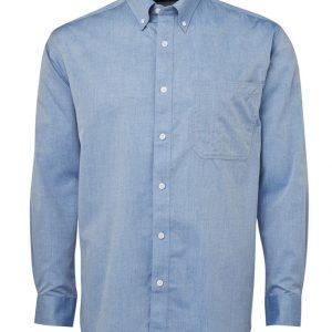 JB's Wear Fine Chambray Long Sleeve Shirt