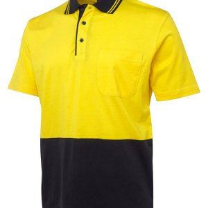 JB's Wear Hi Vis Short Sleeve Cotton Polo