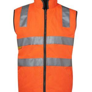 JB's Wear Hi Vis (D+N) Reversible Vest
