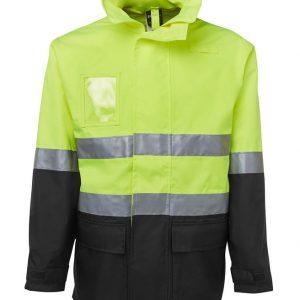 JB's Wear Hi Vis (D+N) Long Line Jacket
