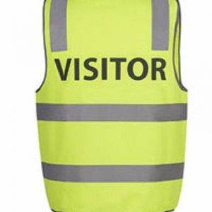 JB's Wear Hi Vis Vest - VISITOR