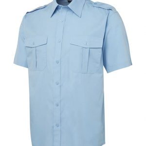 JB's Wear Epaulette Short Sleeve Shirt