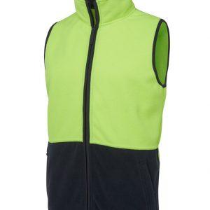 JB's Wear Hi Vis Polar Vest