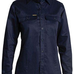 Bisley Ladies X Airflow Ripstop Long Sleeve Shirt