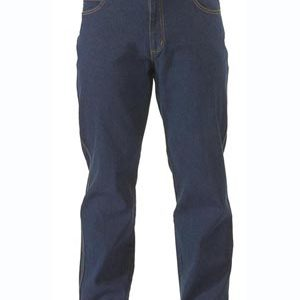 Bisley Mens Rough Rider Demin Stretch Jeans Easy Fit