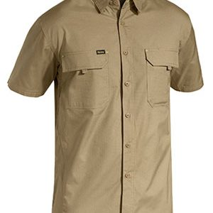 Bisley Mens Short Sleeve X Airflow Ripstop Shirt