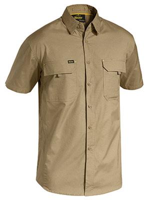 Bisley Mens Short Sleeve X Airflow Ripstop Shirt