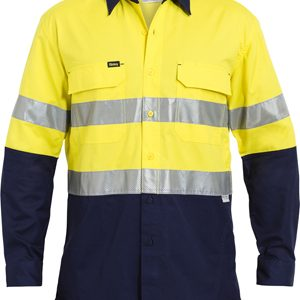 Bisley 3M Taped Hi Vis X Airflow™ Ripstop Shirt