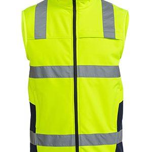 Bisley Taped Hi Vis Soft Shell Vest
