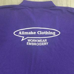 Embroider Large Back