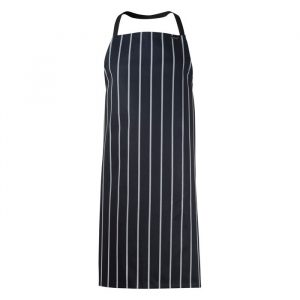 Chefscraft Apron Bib Stripe Cafe