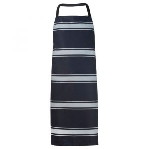 Chefscraft Apron Bib Butchers Stripe