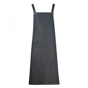 Chefscraft Bib Denim Apron with Pocket