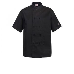 Chefscraft Leightweight Classic Chef Short Sleeve Jacket