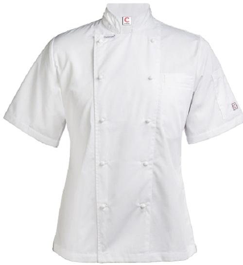 Chefscraft Ladies Lightweight Short Sleeve Chef Jacket