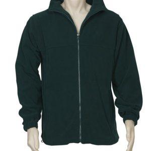 Biz Collection Mens Plain Microfleece Jacket