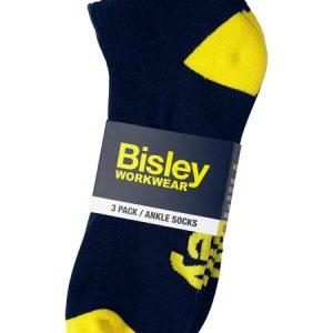 Bisley Work Ankle Socks 3 Pack