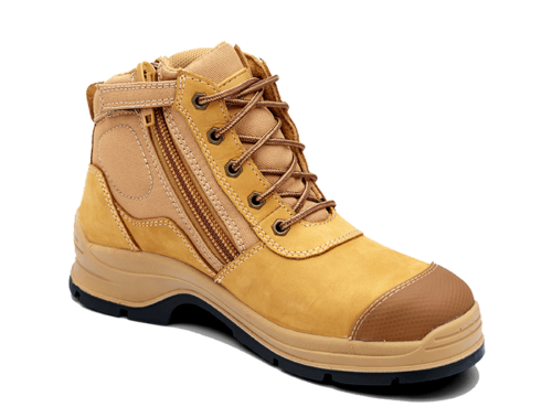 Blundstone Work Boots Lace up Zip sides 318