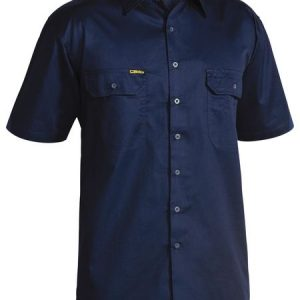 Bisley Cool Lightweight Mens Drill Short Sleeve Shirt